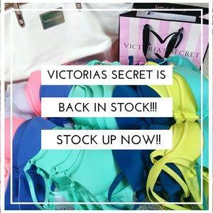 🎆VICTORIAS SECRET 🎆 IS BACK IN STOCK!!